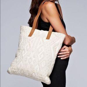 Boho Chic Love Stitch Knit Bag - Carry All